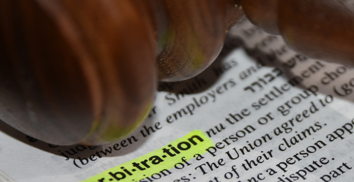 Arbitration dictionary definition