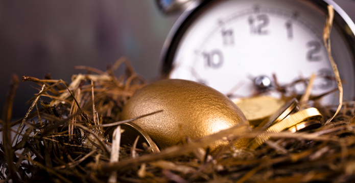 Golden egg nest egg pensions