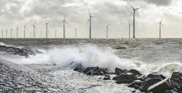 Offshore wind large waves challenges