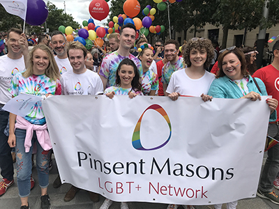 Pinsent Masons at London Pride